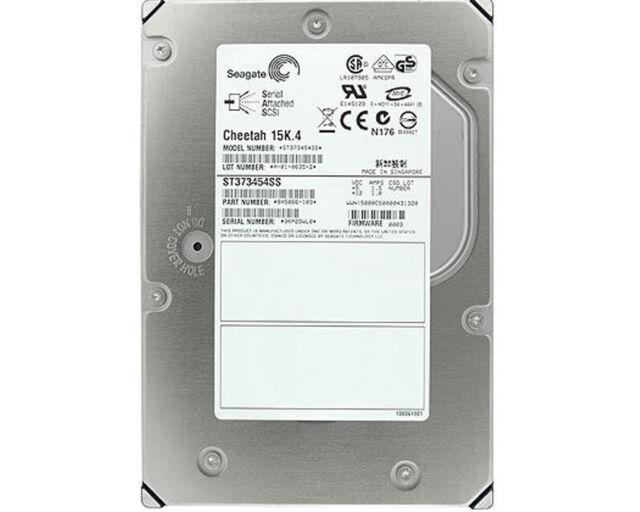 73  GB SAS  IBM/Seagate Cheetah 15K.4 ST373454SS Festplatte generalüberholt
