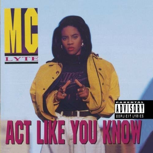 MC Lyte - Act Like You Know [New CD] Explicit, Manufactured On Demand