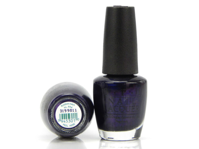 OPI Nail Lacquer Classics Collection NL R54 Russian Navy | eBay