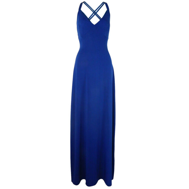 Long Full Length Maxi Evening Party Cocktail Prom Dress Size 8 10 12 ...