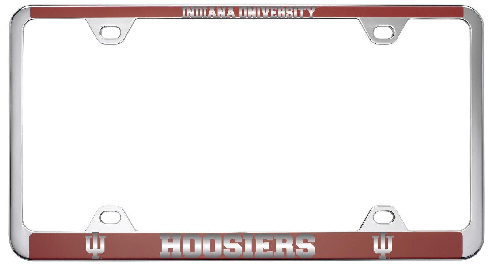 Indiana University -metal License Plate Frame-red | eBay