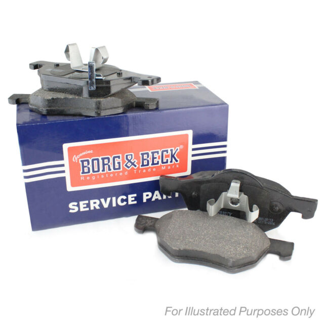 19.3mm Thick Borg & Beck Front Brake Pads Set Genuine OE Quality Service