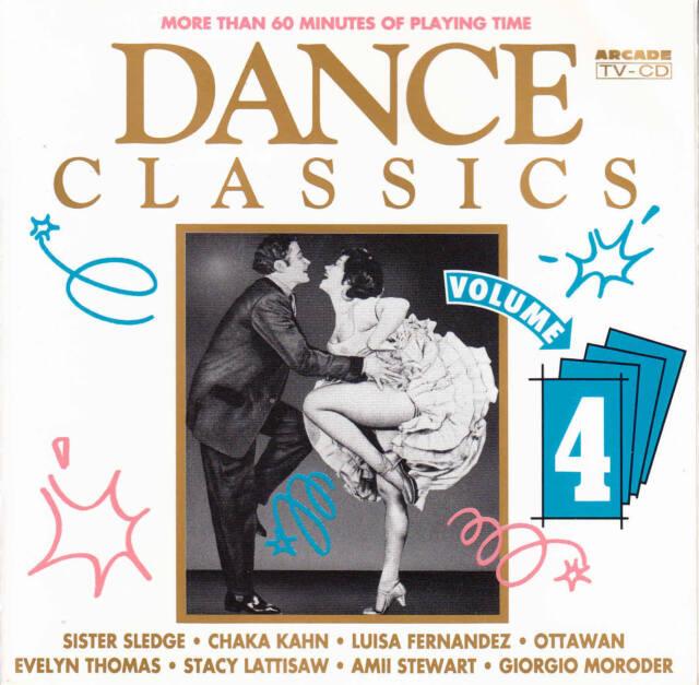 V.A. - DANCE CLASSICS Volume 4 *Georgio,Chaka Kahn,Sheila,Ottawan ★ CD Album
