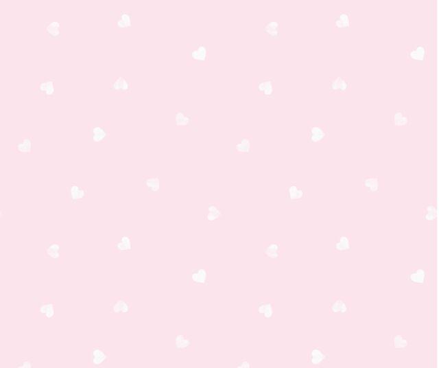 PINK WHITE LOVE HEARTS GIRLS CHILDRENS KIDS NURSERY BABY WALLPAPER DL21118