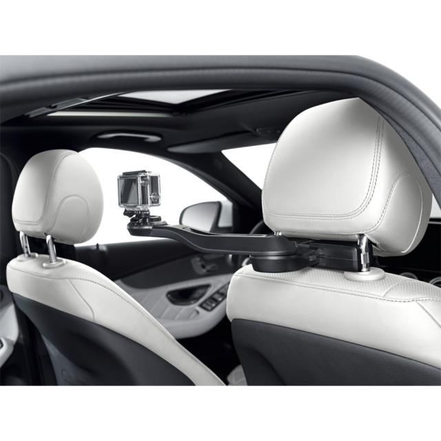 Mercedes Benz Original Action Cam Holder + Kopfstützen Basisträger Neu OVP