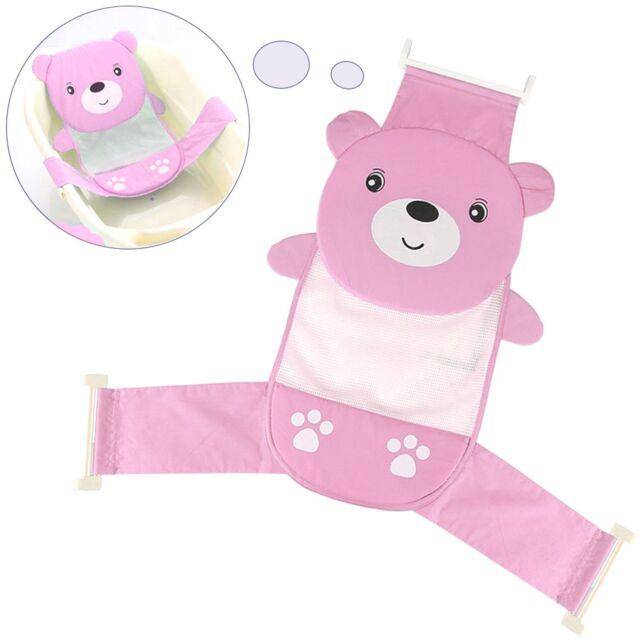 Baby Bath Seat Support Net Bathtub Sling Shower Mesh Newborn Cradle ...