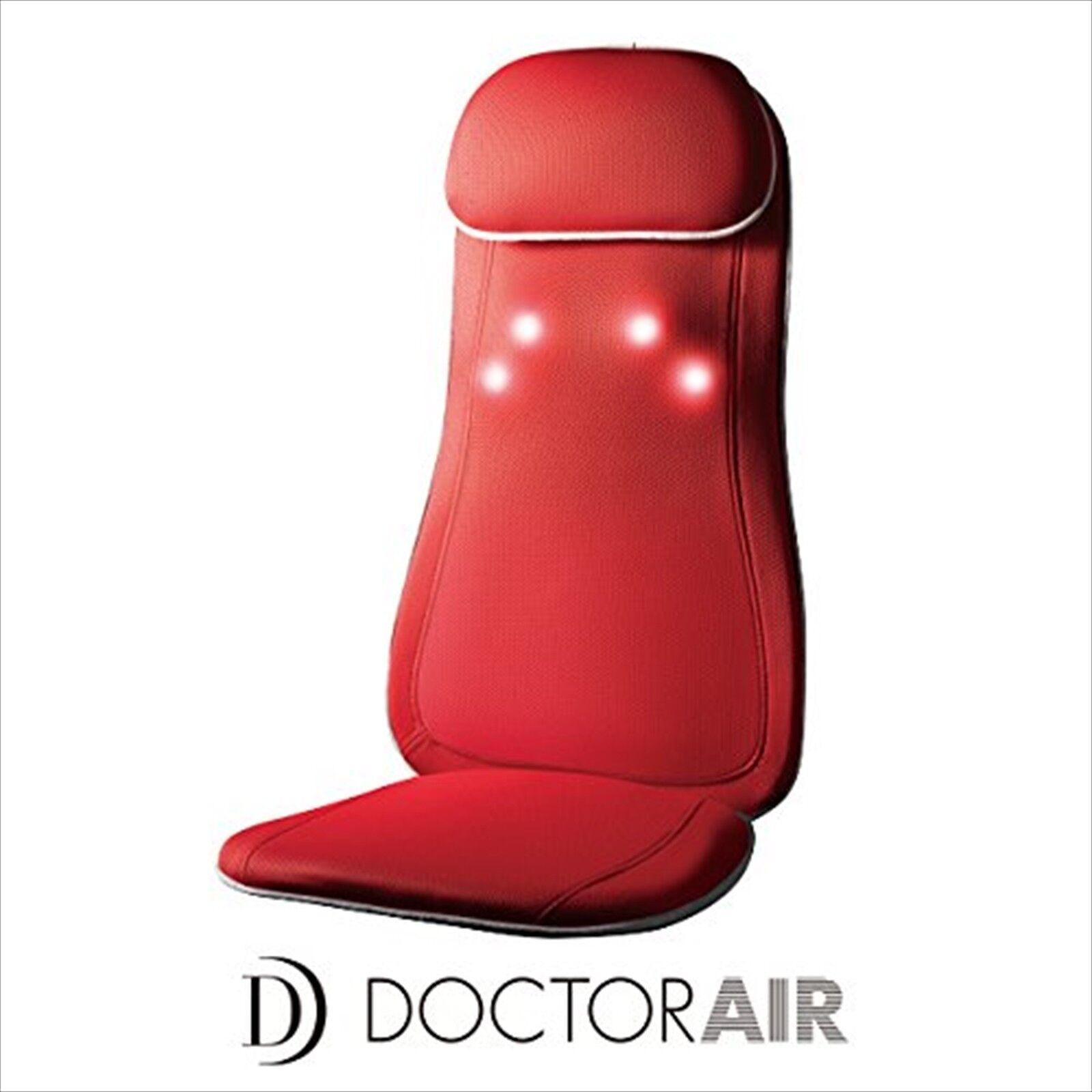 Drr 3d Massage Seat Folding Portable Massager Chair Red Japan