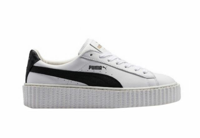Alta qualit Puma Scarpe Da Ginnastica Pelle Bianco UK 6