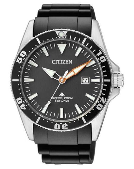 Citizen Promaster Taucheruhr Eco Drive Herrenuhr BN0100-42E Analog  Kautschuk Sc