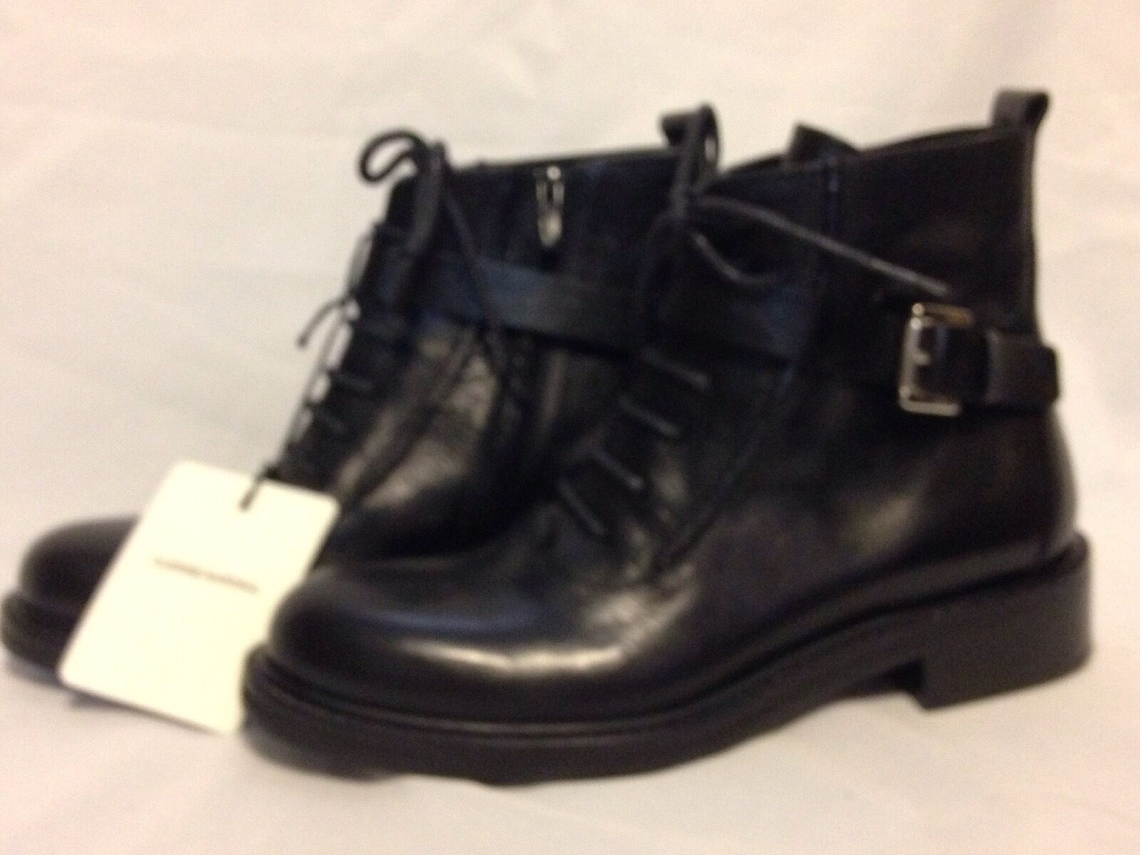 Picture 1 of 6 ... & Costume National TOLEDO Lux Black Womens Shoes Size 8 M BOOTS | eBay