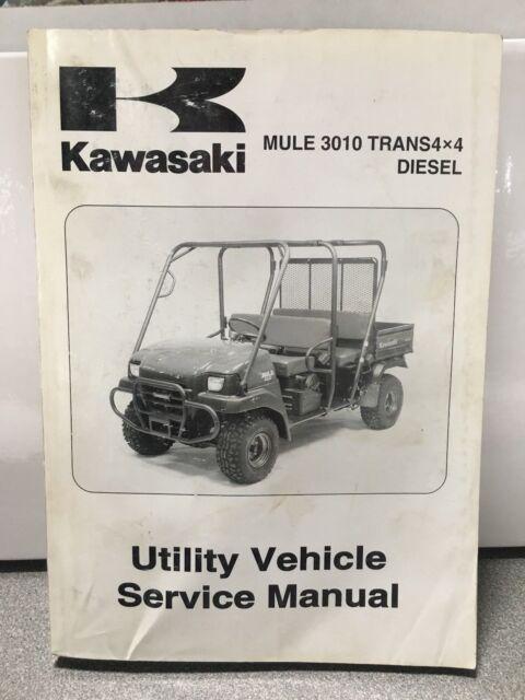 kawasaki 2007 mule 3010 trans4x4 diesel service manual ebay rh ebay com Kawasaki Diesel Mules On eBay Used Kawasaki Mule Diesel