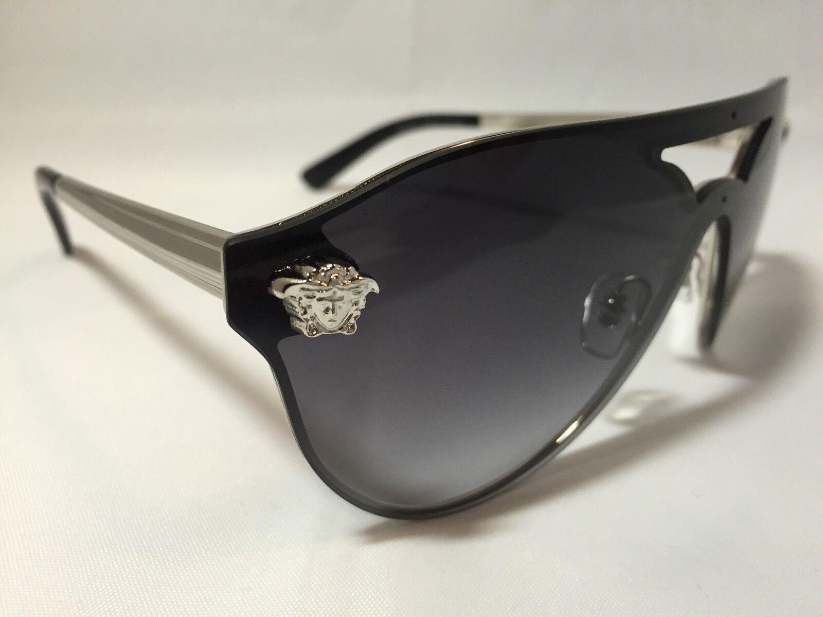 100ff6efb9001 New Unique Rimless Authentic Versace Sunglasses « One More Soul