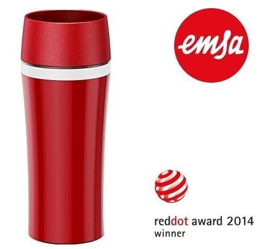 EMSA® Travel Mug Fun Isolierbecher Coffee to go! Für unterwegs oder Auto! 514578