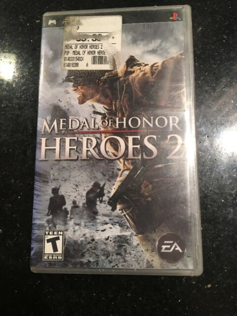 Medal of Honor: Heroes 2 - Sony PSP Brand new Factory sealed