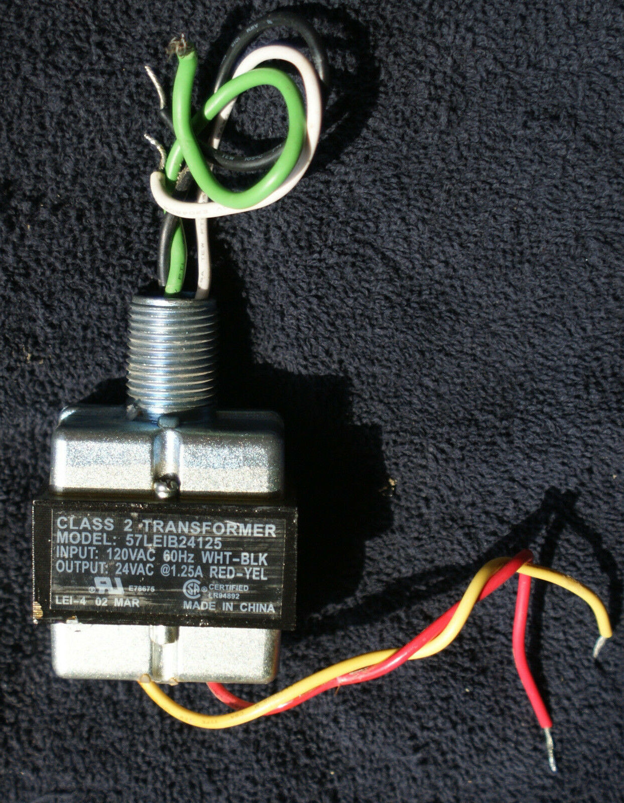 s l1600 oem irritrol hardie rain dial ext transformer 57leib24125 rd 600 irritrol rd-600 wiring diagram at bakdesigns.co
