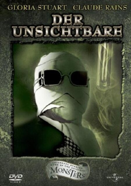 Classic Monster Collection: Der Unsichtbare -  DVD - ohne Cover #1022