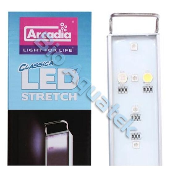 Arcadia LED Stretch Aquarium Fish Tank Light   Marine CS60M 26w 60cm   80cm
