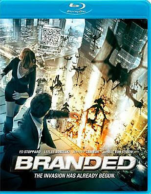 BRANDED (Ed Stoppard) - BLU RAY - Region A - Sealed