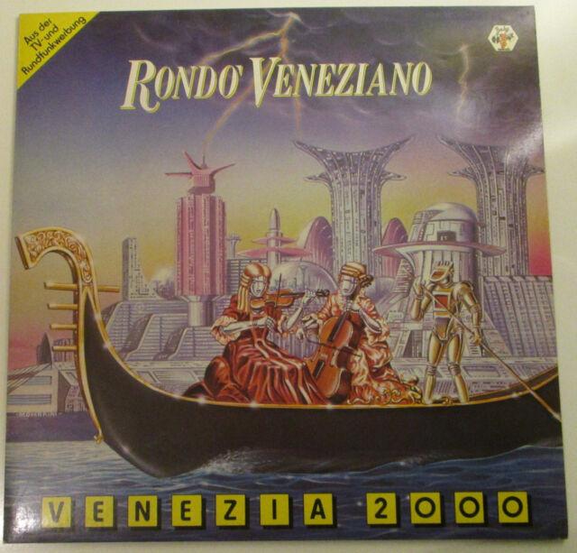 """12"""" LP Vinyl -Rondo Veneziano """"Venezia 2000"""" Baby Records 1C 0881654511 1983 DMM"""