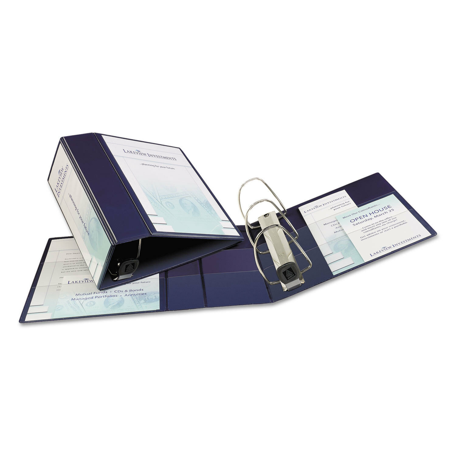 avery 79806 nonstick heavy duty ezd reference view binder 5in