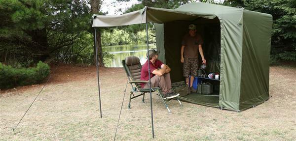 Fox Royale Cook Tent Station / Carp Fishing Kitchen Bivvy