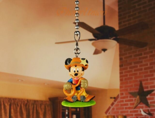 Disney Mickey Mouse Ceiling Fan Pull Light Lamp Chain Decoration ...