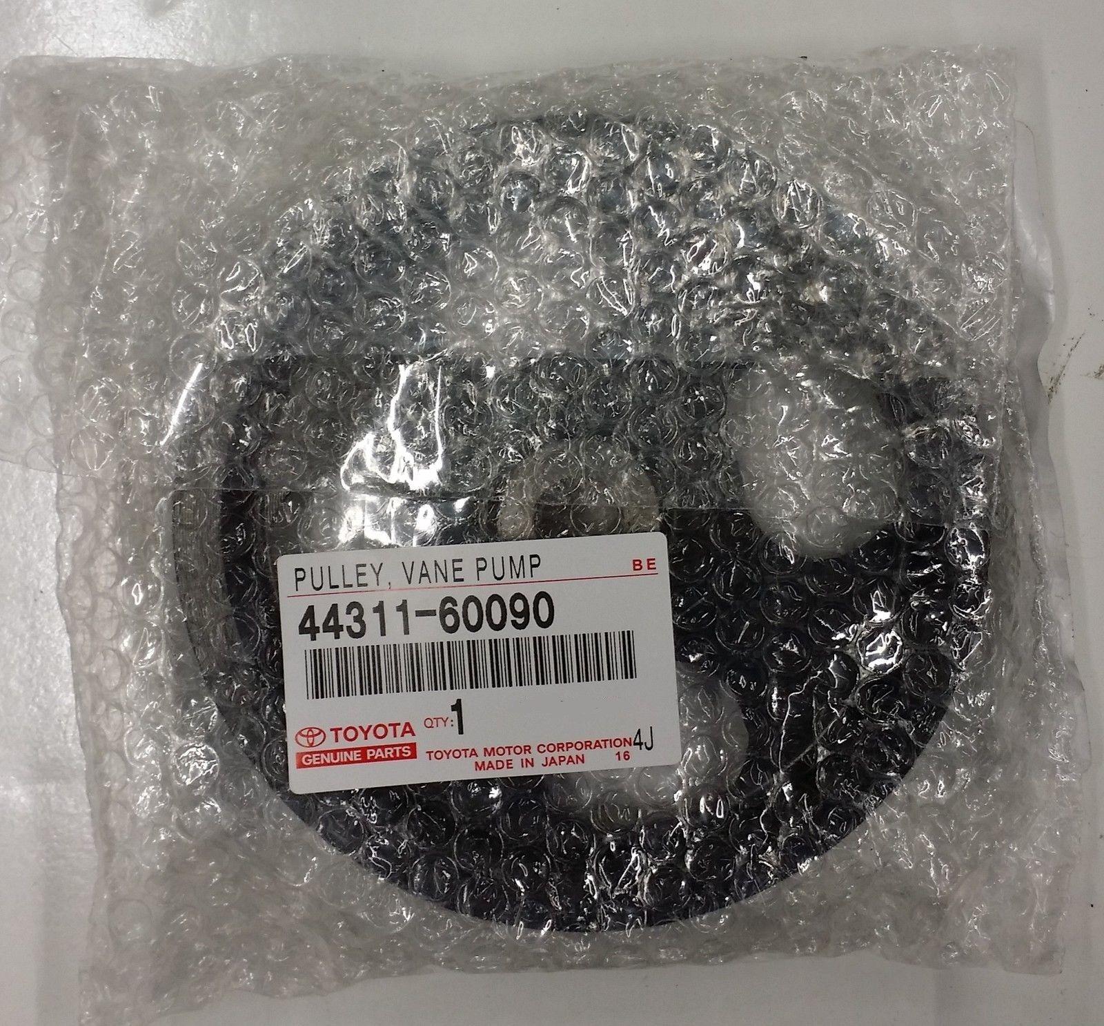 item 4 Lexus OEM Factory Power Steering Pump Pulley 1998-2002 LX470 44311-60090  -Lexus OEM Factory Power Steering Pump Pulley 1998-2002 LX470 44311-60090