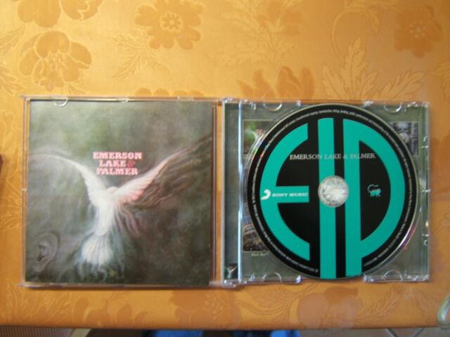 EMERSON LAKE & PALMER - same,  CD remastered 2011, neuwertig