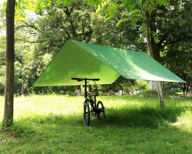 Portable C&ing Tent Tarp Awning Sun Shade Rain Shelter Mat Beach Picnic Pad & Portable Camping Tent Tarp Awning Sun Shade Rain Shelter Mat Beach ...