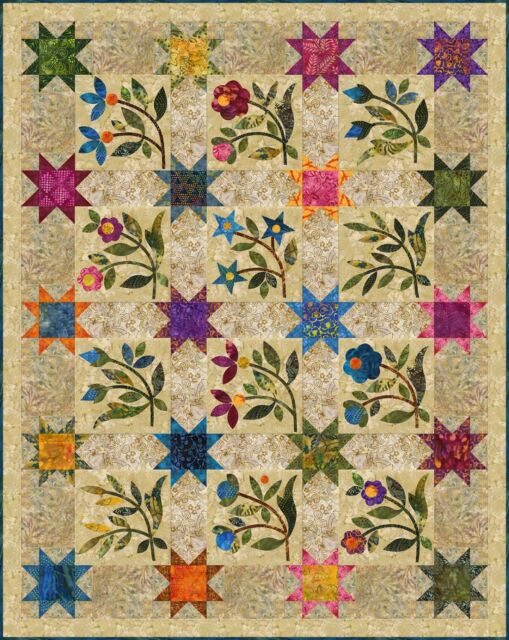 Spring Sprouts Quilt Pattern Laundry Basket Quilts Edyta Sitar   eBay : laundry baskets quilts - Adamdwight.com