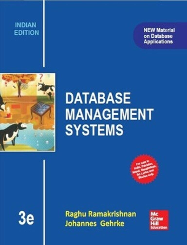 Database management systems by raghu ramakrishnan and johannes resntentobalflowflowcomponentncel fandeluxe Image collections