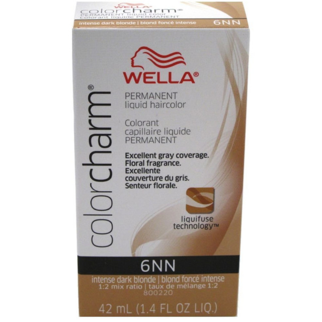 Wella Color Charm Liquid Nn Shade 6nn Intense Dark Blonde Ebay
