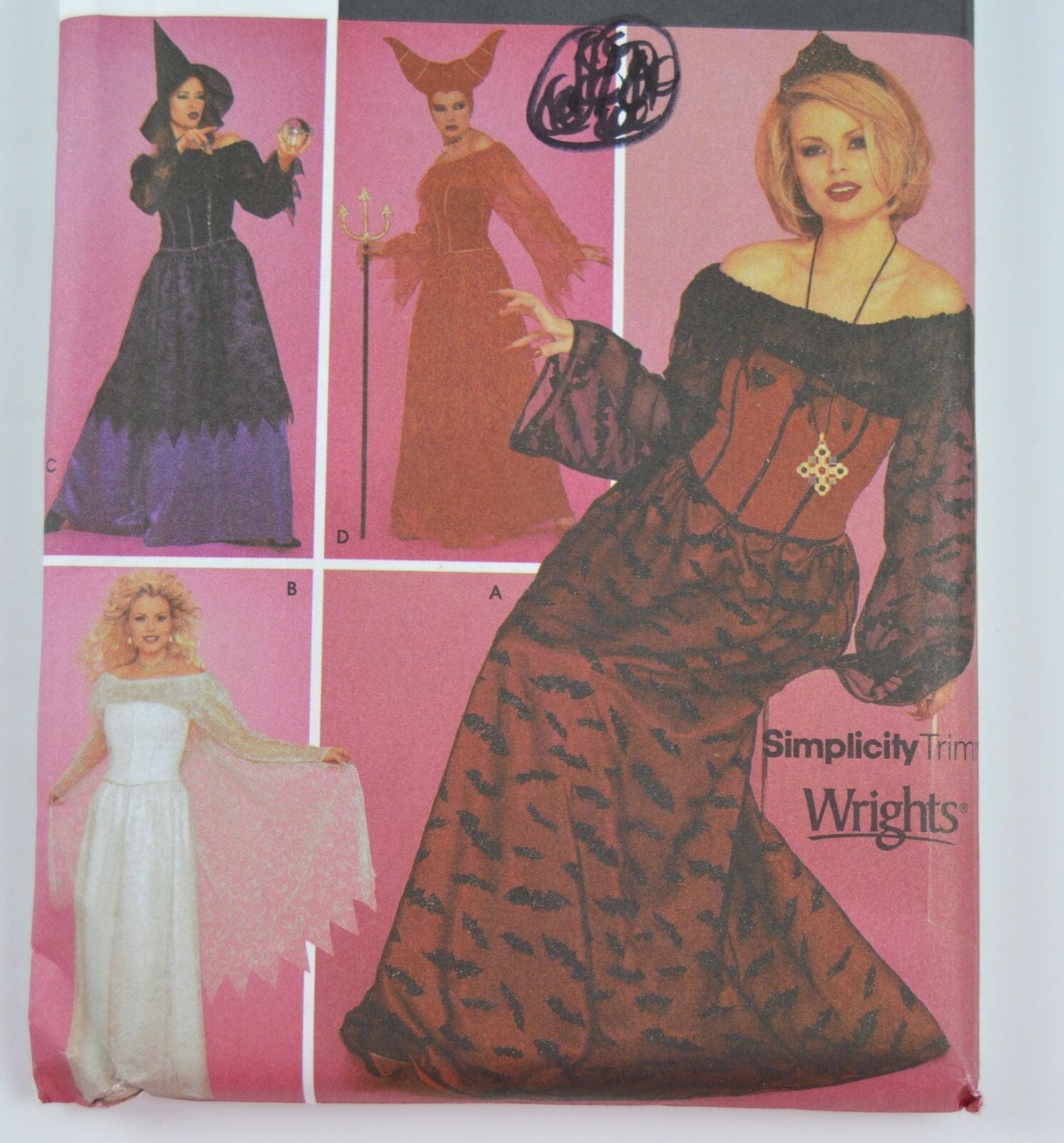 Witch Costume Pattern Simple Decorating Ideas