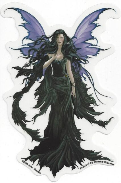 Storm runes faerie fairy sticker car decal nene thomas faery