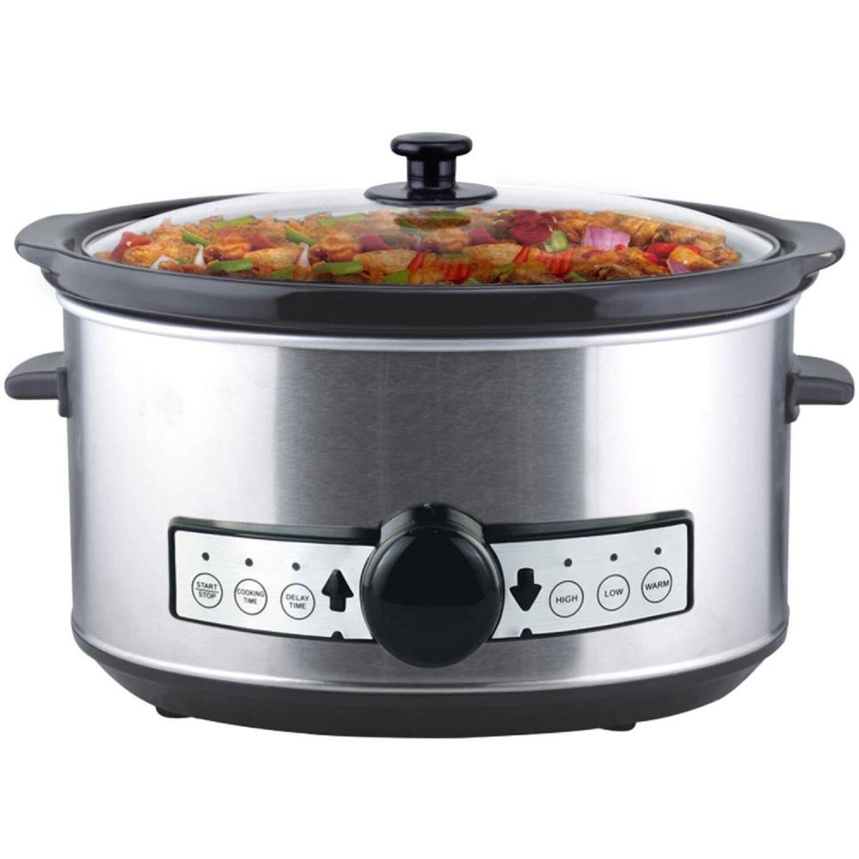 digitaler Slow Cooker 3 5 Liter mit Timer | eBay