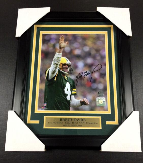 Brett Favre Signed Green Bay Packers 8x10 Photo Custom Framed | eBay