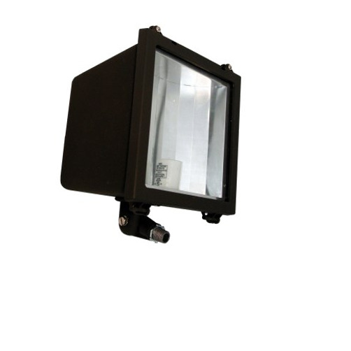 100 watt high pressure sodium flood light with bulb star lux ebay picture 1 of 1 aloadofball Choice Image
