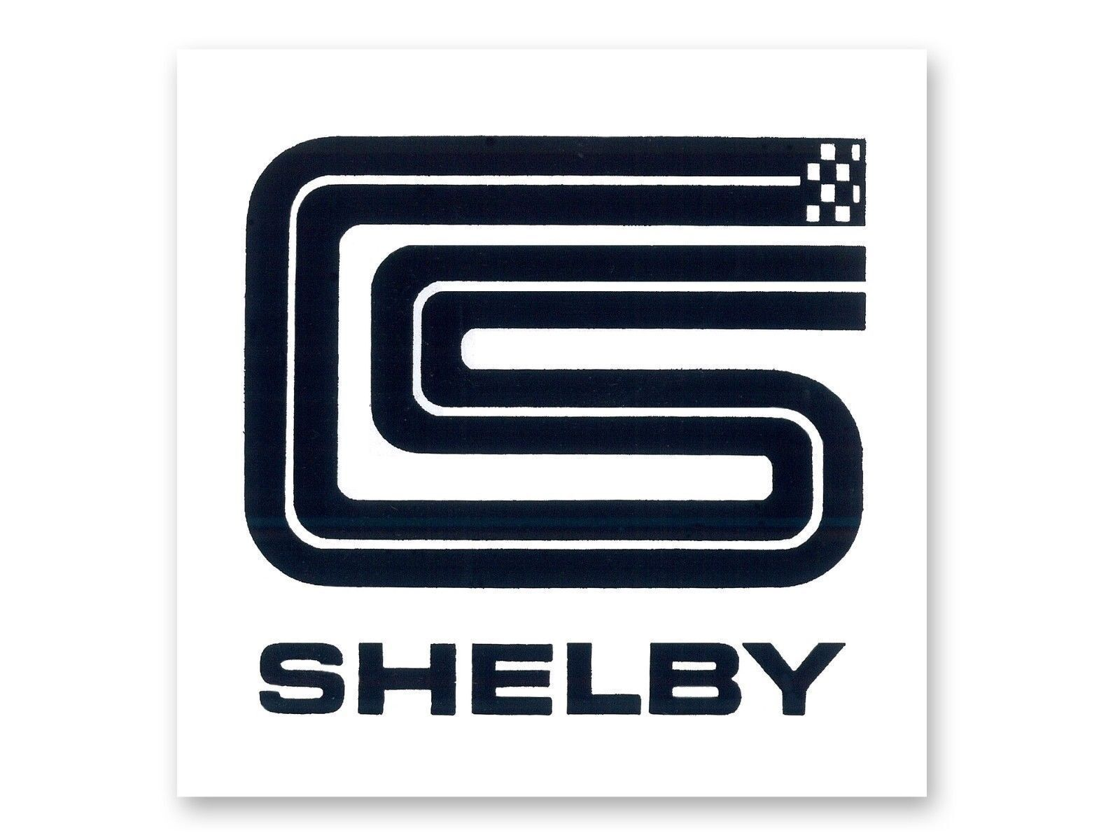 club cobra carroll shelby cs logo vinyl graphic