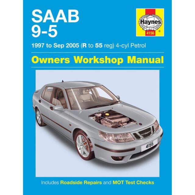 saab 9 5 97to02 r to 55 reg 4 cyl petrol haynes 4156 owners workshop rh ebay co uk 1993 Saab 9-5 1999 Saab 9 5 Reliability