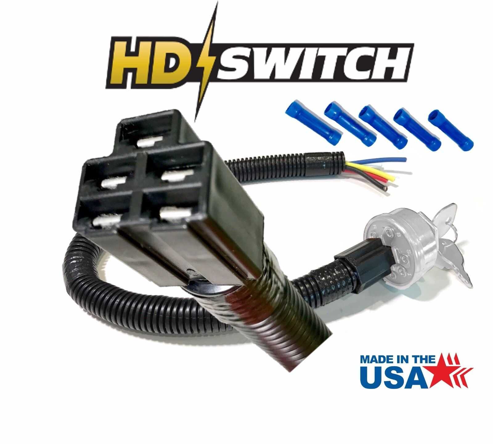 Husqvarna Wiring Harness Connectors Diagram Fuse Box Toro Key Switch Wire Connector Plug Asy For 506558701 Rh Ebay Com