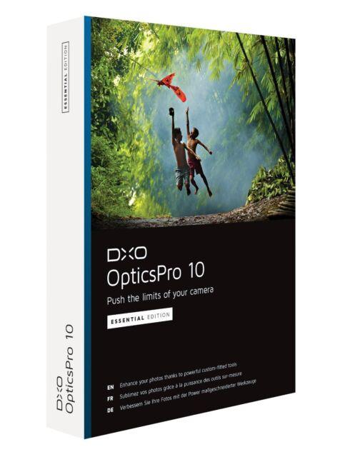 DxO Photo Lab Essential Edition, immer neuste Version PRO 10