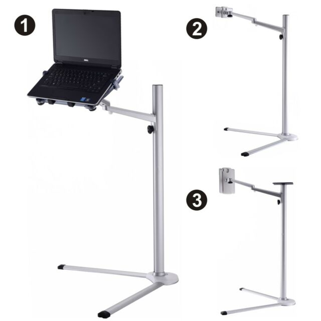 Tangkula ipad laptop stand holder 3 in 1 height adjustable for Boden desktop