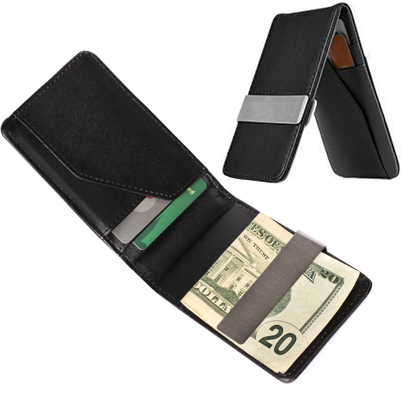 Leather ID Holder | eBay