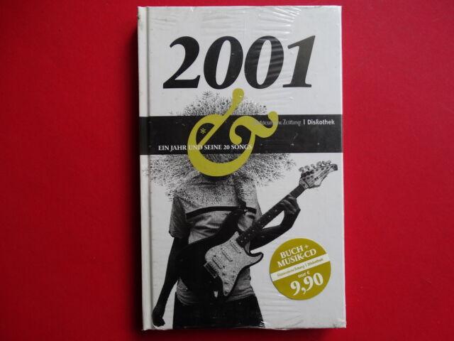 Ein Jahr und seine 20 Songs 2001 *  Buch + Musik-CD * Süddeutsche Zeitung * ovp