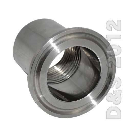 Quot dn sanitary female threaded ferrule pipe fitting tri