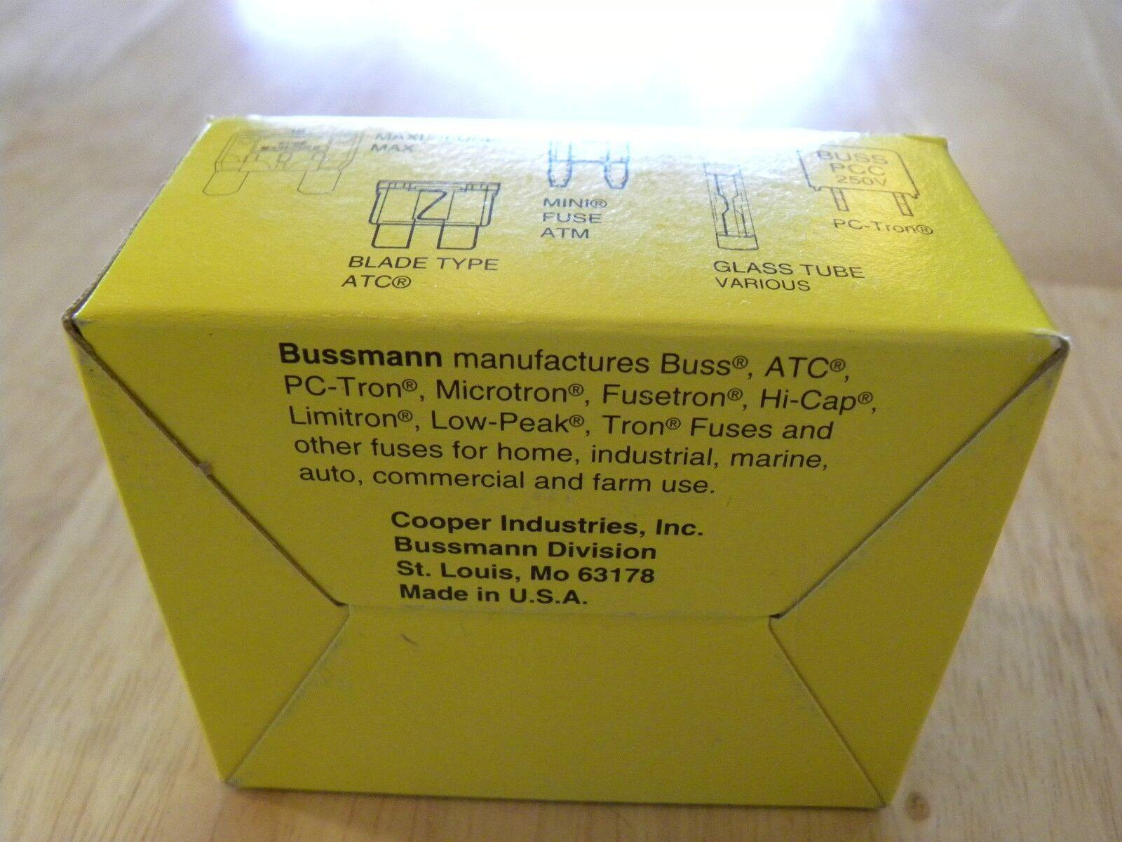 Cooper Bussmann Agc V 12 Fuse Ebay Home Tube Box