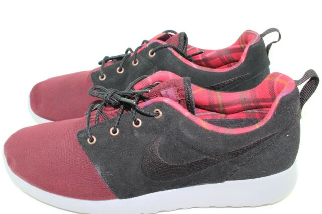 Nike Roshe One Premium Size 10.0 Men Night Maroon Running Comfortable New