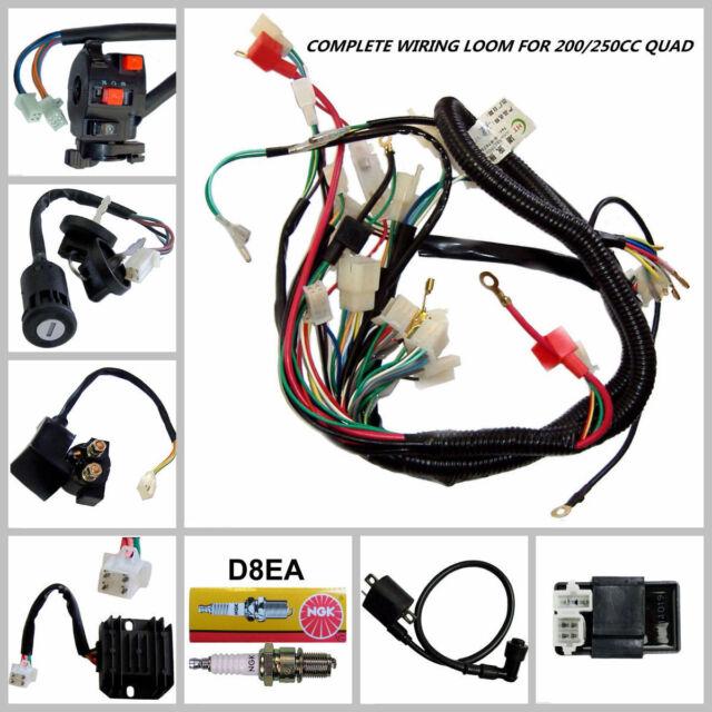 250cc quad electrics 150 200cc zongshen lifan ducar razor cdi coil rh ebay com Zongshen 125 Zongshen 200Cc Dirt Bike