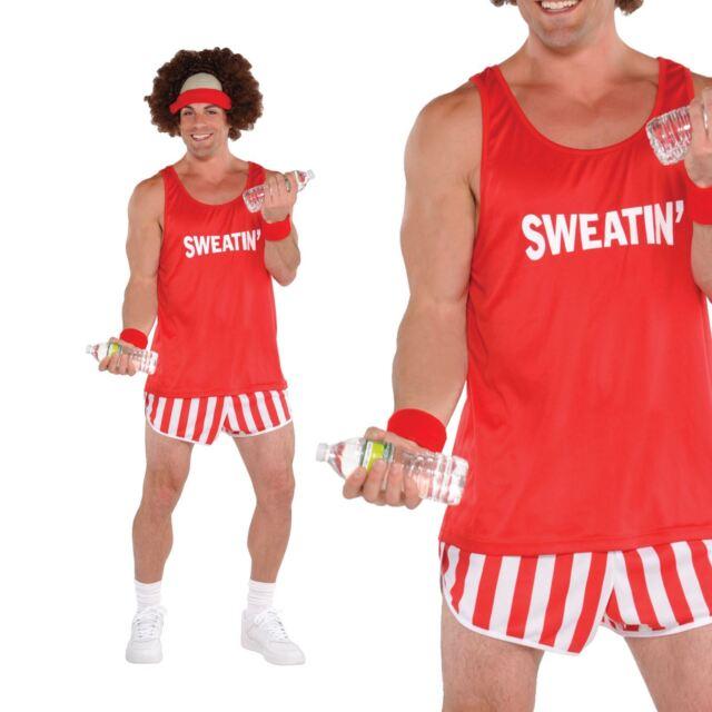 mens exercise maniac richard simmons costume 80s athlete