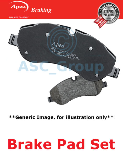 Apec Rear Brake Pads Set OE Quality Replacement PAD1817
